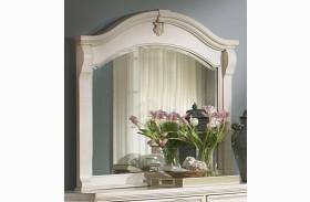 Heirloom White Landscape Mirror