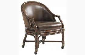 Bal Harbor Rich Sienna Rum Runner Chair