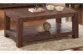 Fairway Royal Classics Distressed Walnut Cocktail Table