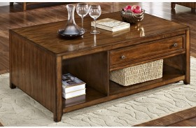 Contempo Royal Classics Burnished Walnut Cocktail Table