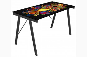 Graphic Top Psychedelic Exponent Desk