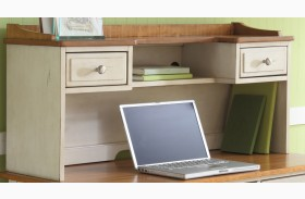 Ocean Isle Writing Desk Hutch