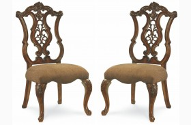 Pemberleigh Pierced Back Side Chair Set of 2