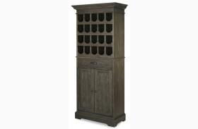 Berkeley3 Brownstone Tall Wine Cabinet