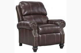 Glengary Chestnut Low Leg Recliner