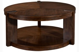 Ryleigh Round Rotating Cocktail Table
