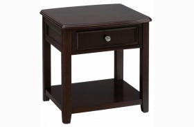 Coronado Espresso End Table