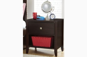 Pulse Chocolate Nightstand