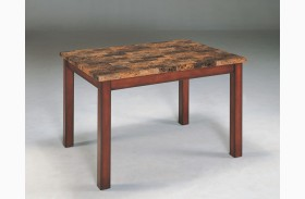 Achillea Faux Marble Dining Table