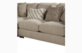 Serena Oyster Armless Loveseat