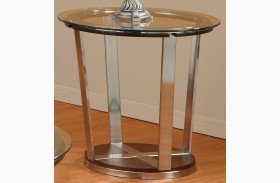 Dunham Round End Table