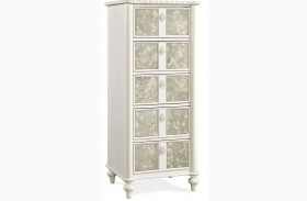 Bellamy Smartstuff Daisy White Tall Chest