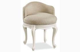 Bellamy Smartstuff Daisy White Swivel Vanity Seat