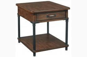 Saluda Drawer End Table
