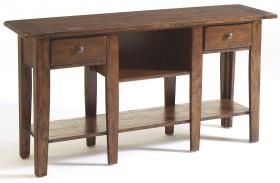 Attic Rustic Oak Stain Sofa Table