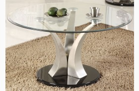 Charlaine Round Cocktail Table
