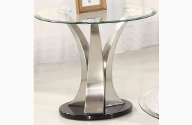 Charlaine Round End Table