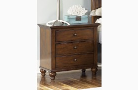 Hamilton 3 Drawer Nightstand