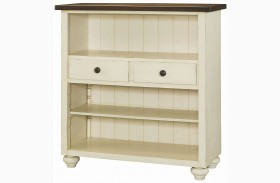Heartland Smoky Brown Bookcase