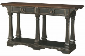 Dorset Black Sofa Table
