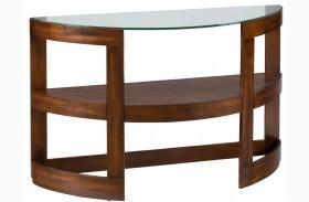 Avon Birch Demilune Sofa Table
