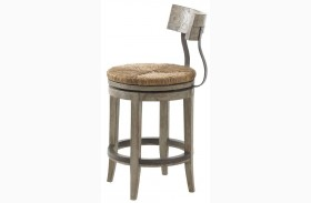 Twilight Bay Antique Linen Dalton Counter Stool