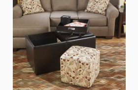 Danely Dusk Ottoman With Storage