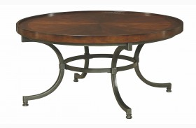 Barrow Rich Amber Round Cocktail Table