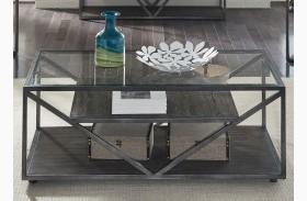 Arista Cobblestone Brown Sofa Table