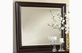 French Market Antique Merlot Youth Landscape Mirror