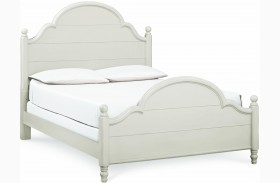 Inspirations Queen Low Poster Bed