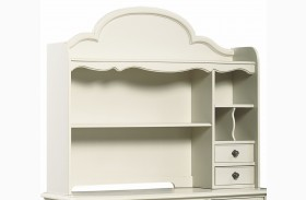 Inspirations Seashell White Hutch