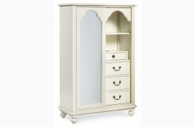 Inspirations Seashell White Signature Dressing Chest