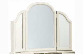 Inspirations Seashell White Vanity Mirror