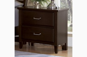 Commentary Merlot 2 Drawer Nightstand