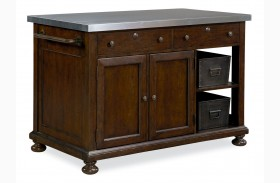 Riverhouse River Bank Kitchen Island