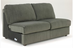 Jessa Place Pewter Armless Loveseat