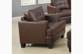 Samuel Dark Brown Chair
