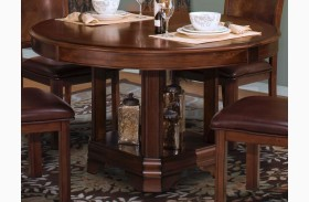 Sheridan Burnished Cherry Round Dining Table