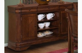 Sheridan Burnished Cherry Entertainment Console/Server