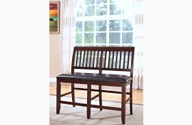 Kaylee Tudor Brown Counter Bench