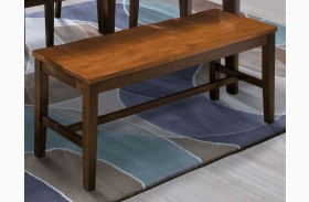 Latitudes Ginger/African Chestnut Bench