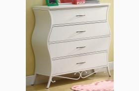 Bella Youth White Dresser