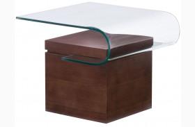 Mystic Walnut Side Table