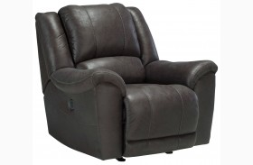Niarobi Gray Rocker Recliner