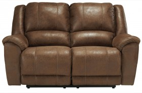Niarobi Saddle Reclining Loveseat