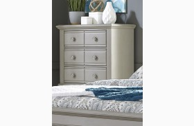 Summer House II Gray 5 Drawer Chest