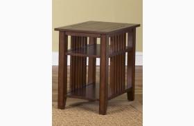 Prairie Hills Satin Cherry Chair Side Table