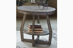 Hayden Way Gray Wash End Table