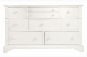 Coastal Living Saltbox White Getaway Dresser